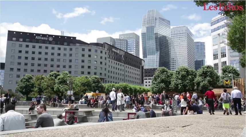 Illustration pour la vidéo Les banques françaises sur le toit de l'Europe