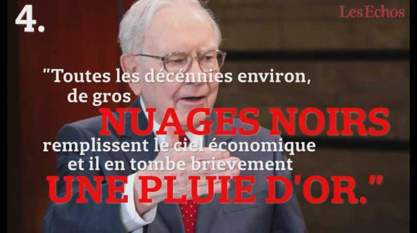 Illustration pour la vidéo Les bons conseils d'investissement de Warren Buffett