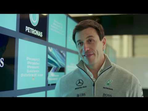 Mercedes-AMG Petronas Motorsport Launches W08 EQ POWER+ - Interview with Toto Wolff | AutoMotoTV
