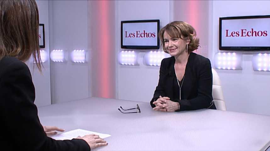 """Illustration pour la vidéo Avec la 5G, """"on multiplie tout par 10"""" (vitesse, réaction...), selon Mari-Noëlle Jégo-Laveissière (Orange)"""