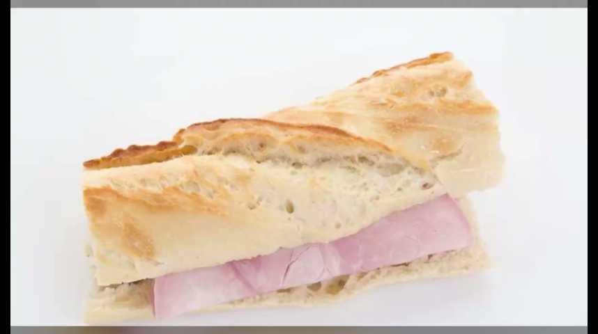 """Illustration pour la vidéo Le """"jambon-beurre"""" menacé par la concurrence du bagel et du burger"""