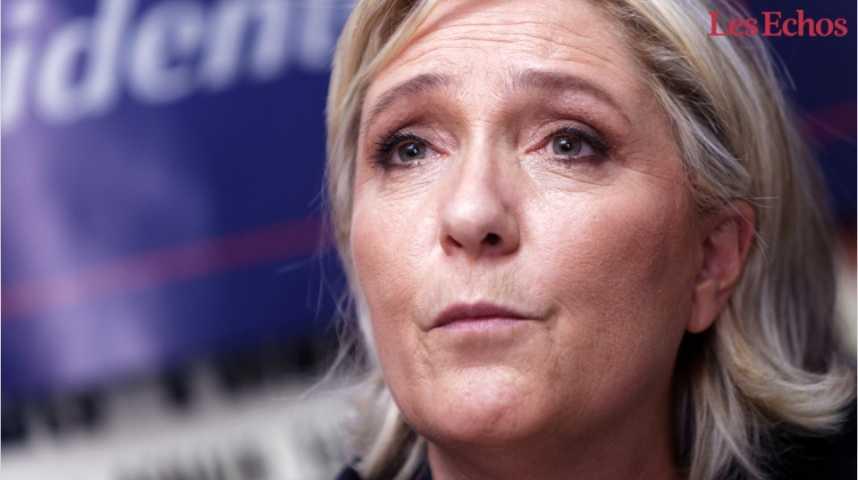 Illustration pour la vidéo Le programme économique inconséquent de Marine Le Pen