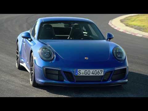 Porsche 911 Carrera 4 GTS Coupe Design in Sapphire Blue   AutoMotoTV