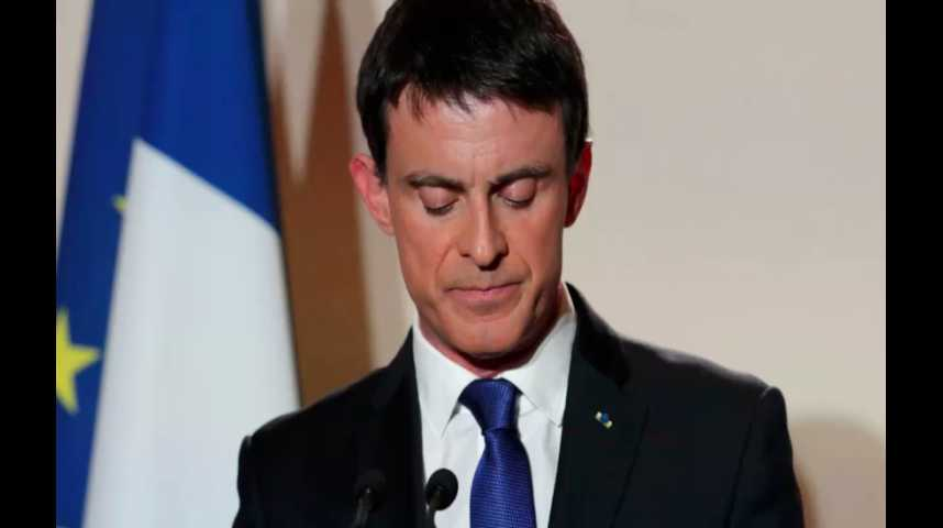 """Illustration pour la vidéo Manuel Valls reconnaît sa défaite : """"il m'appartient de prendre le recul nécessaire"""""""