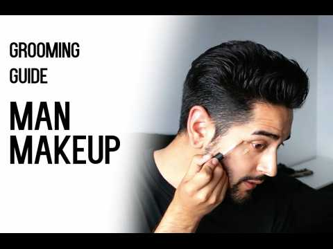 Man Makeup - Cover dark circles, spots - Grooming Guide (Men's makeup) ✖ James Welsh