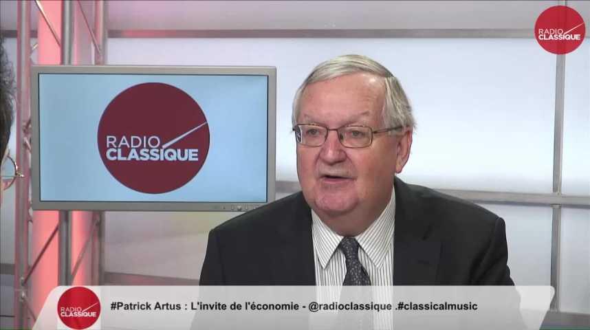 """Illustration pour la vidéo """"L'objectif fondamental de l'euro n'est pas atteint"""" Patrick Artus (07/02/2017)"""