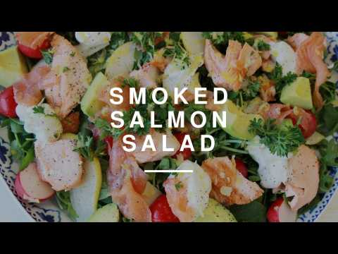 Quick Smoked Salmon Salad | Wild Dish