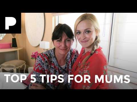 Fearne Cotton and Davina McCall's Top 5 Tips for Mums - Fearne's Happiness Project