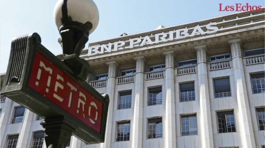 Illustration pour la vidéo BNP Paribas enregistre un bénéfice de 7,7 milliards d'euros en 2016