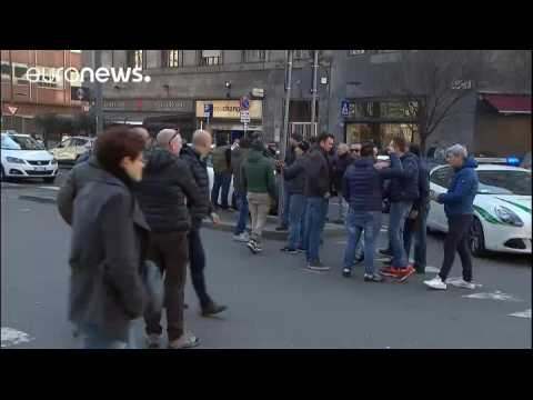 Italy: anti-Uber protests take thousands of taxis off the streets