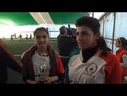 Women's football final held in Syria's autonomous Kurdish region