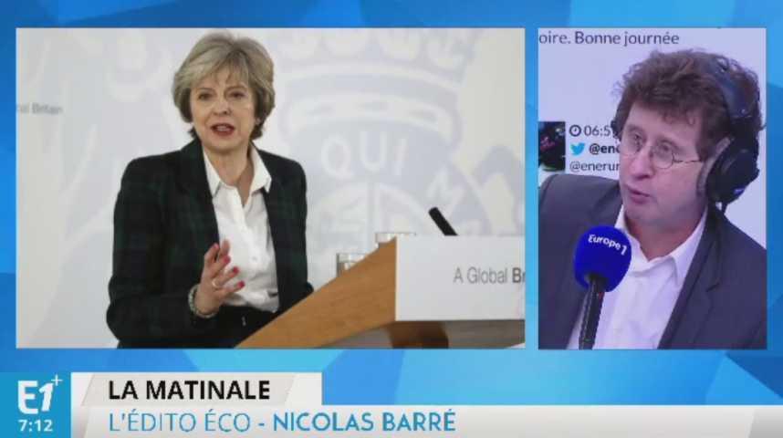 Illustration pour la vidéo Theresa May ressuscite la politique industrielle