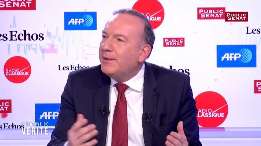 Illustration pour la vidéo Présidentielle : Pierre Gattaz ne prendra pas position