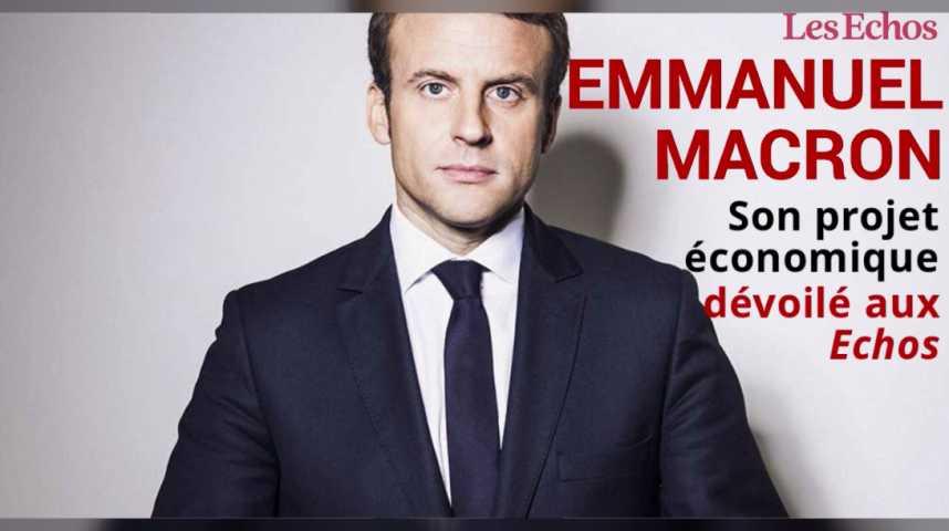 Illustration pour la vidéo Emmanuel Macron dévoile son projet économique : ce qu'il faut en retenir en 2 minutes