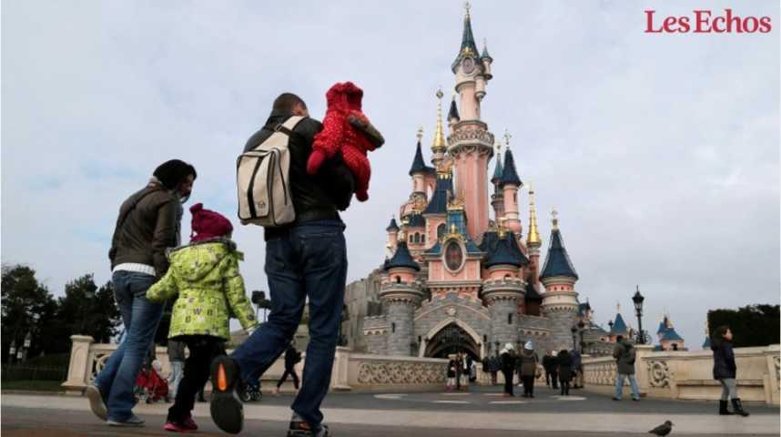 Illustration pour la vidéo Les chiffres de l'impact social et économique de Disneyland Paris