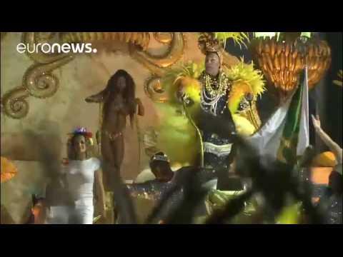 Rio's carnival in full swing with elite samba school parades