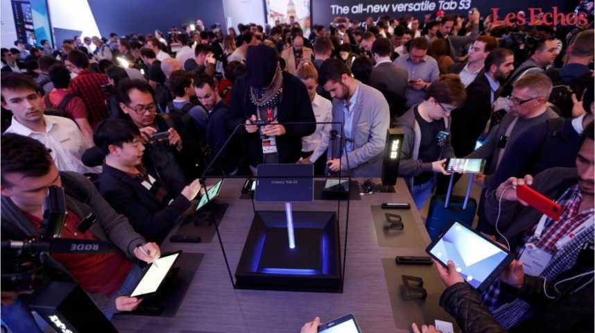 Illustration pour la vidéo A Barcelone, un Samsung convalescent
