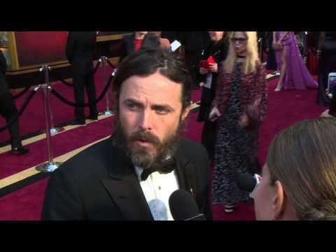 Casey Affleck on Hollywood and politics: Oscars 2017 red carpet