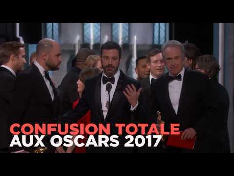"""""""Moonlight"""" obtient l'Oscar du meilleur film après une énorme bourde"""