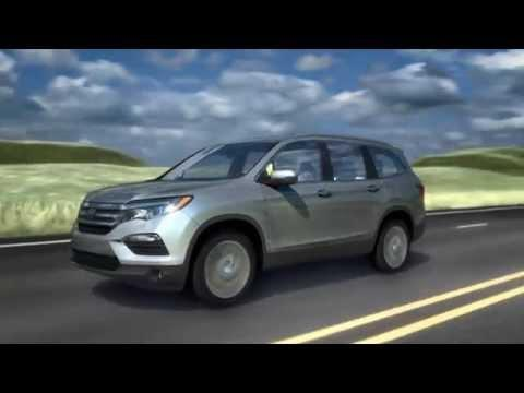 2016 Honda Pilot Adaptive Cruise Control | AutoMotoTV