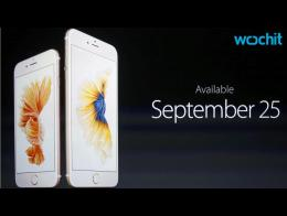 Apple Debuts iPhone 6s, iPhone 6s Plus With '3D Touch'