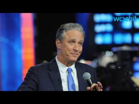 Jon Stewart Shows Off His Dance Moves