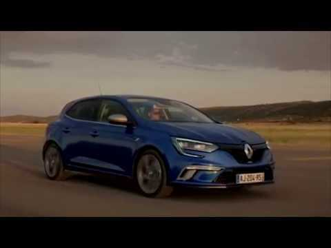 2015 New Renault MEGANE GT Driving Video | AutoMotoTV