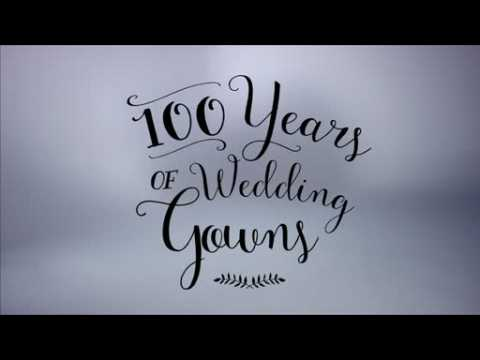 A video showing 100 years of wedding dress fashion gets over 3 million views