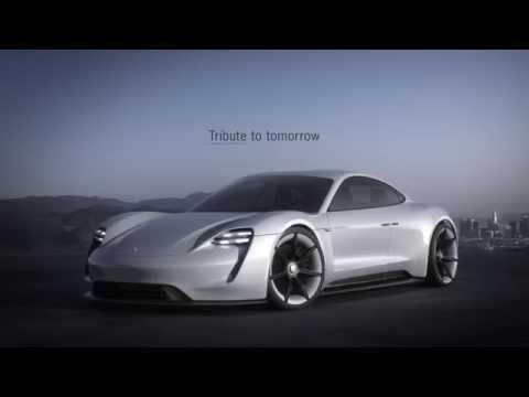 Porsche Concept Study Mission E - Exterior Design | AutoMotoTV