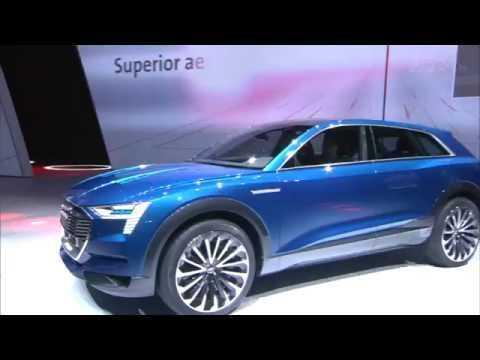 IAA 2015 Audi Highlight - e-tron quattro concept | AutoMotoTV