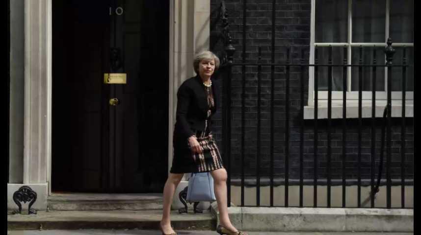 Illustration pour la vidéo Theresa May, nouvelle locataire du 10 Downing Street dès mercredi
