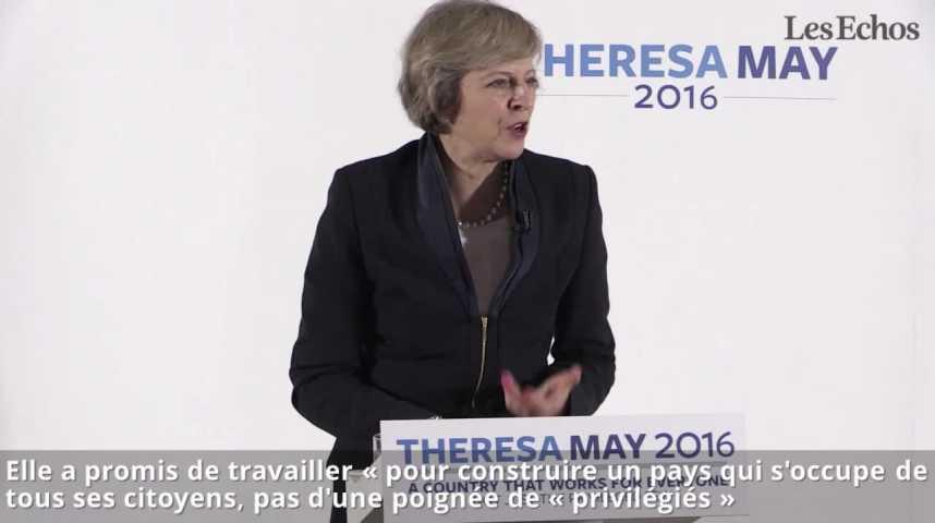 Illustration pour la vidéo Le programme très social de Theresa May