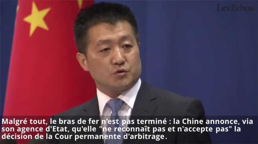 Illustration pour la vidéo Mer de Chine méridionale: Pékin désapprouvé par La Haye