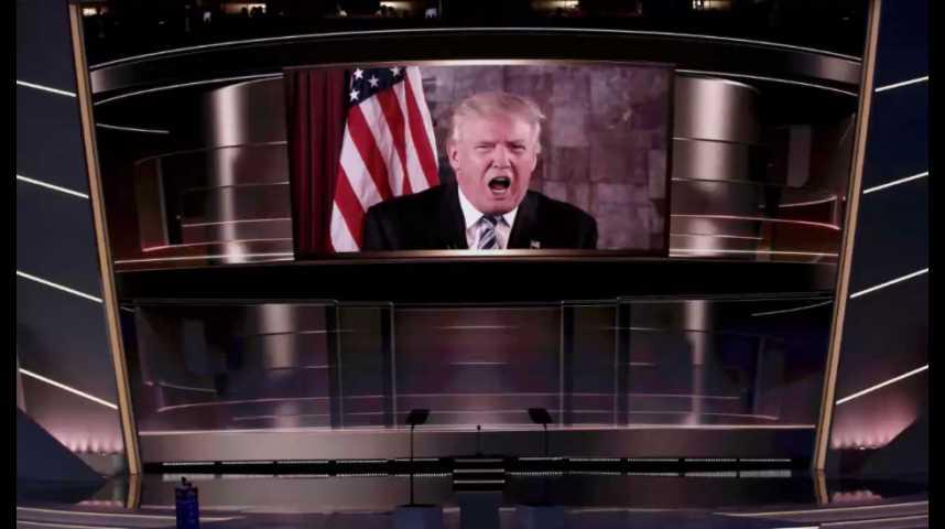 Illustration pour la vidéo Trump décroche la nomination républicaine et fait son show