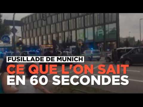 Ce que l'on sait de la fusillade dans un centre commercial de Munich
