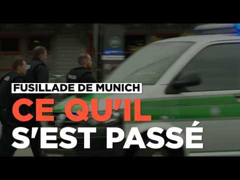 Fusillade de Munich : ce qu'il s'est passé
