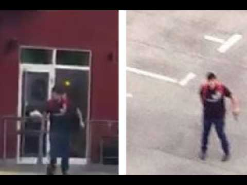 Les images du tireur de la fusillade de Munich sous-titrées