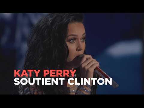 """Katy Perry : """"En votant, vous aurez autant de pouvoir qu'un lobbyiste de la NRA"""""""