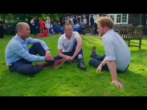 Prince Harry regrets not talking about Diana's death