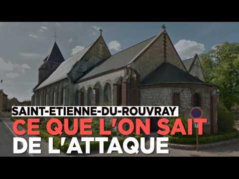Saint-Etienne-du-Rouvray : ce que l'on sait de l'attaque terroriste