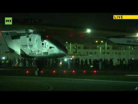Solar Impulse 2 Plane Circles the Globe Without Any Fuel