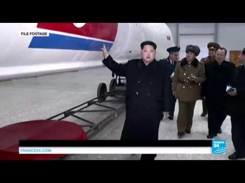 North Korea fires ballistic missile into sea near Japan