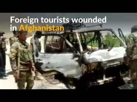 Gunmen attack foreign tourist convoy in Afghanistan