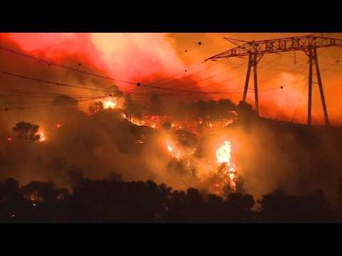 Incendies au nord de Marseille: 3300 hectares brûlés