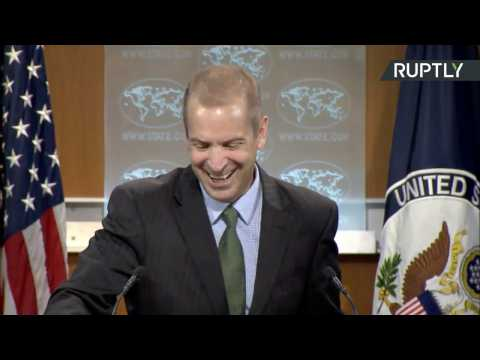 State Dept Spokesman Laughs Calls Presser 'Exercise in Transparency and Democracy', Breaks Out Laughing