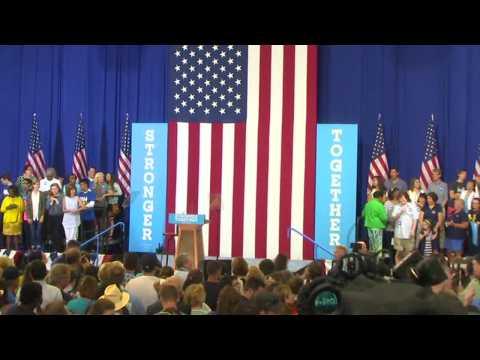 Sanders Endorses Clinton for President