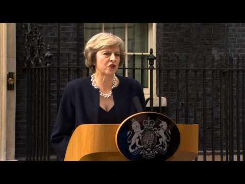Theresa May officiellement Première ministre du Royaume-Uni