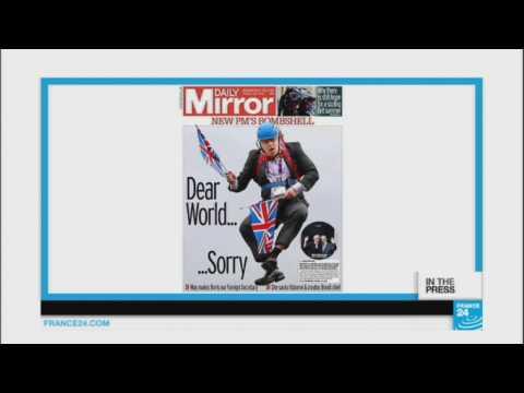 'Dear World, Sorry': May Appoints Boris as Foreign Secretary