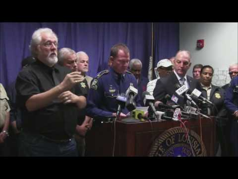 Suspect Killed After Shooting Dead 3 Officers - Louisiana Police