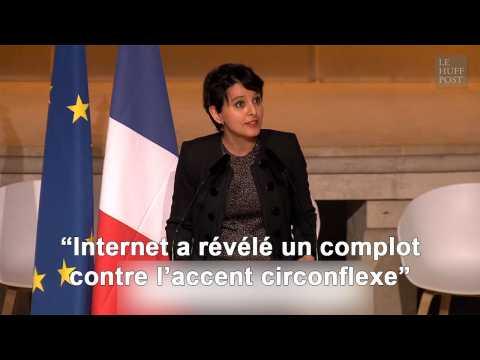Le discours plein d'humour de Najat Vallaud-Belkacem face aux théories du complot